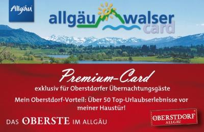 Allgäu Walser Premium Card | Gästehaus Ender